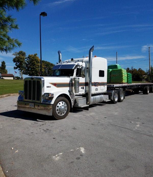 Roane Transportation driver's truck